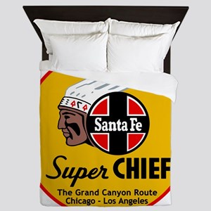 Santa Fe Super Chief1 Queen Duvet