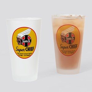 Santa Fe Super Chief1 Drinking Glass