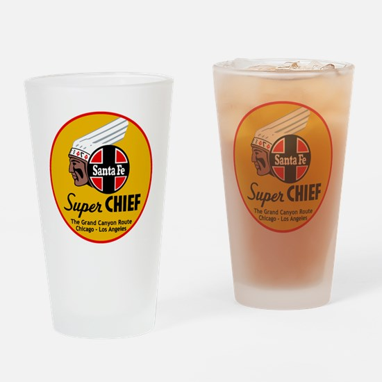 Santa Fe Super Chief1 Drinking Glass