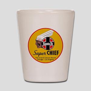 Santa Fe Super Chief1 Shot Glass