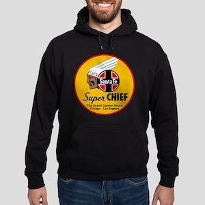Santa Fe Super Chief1 Hoodie (dark)