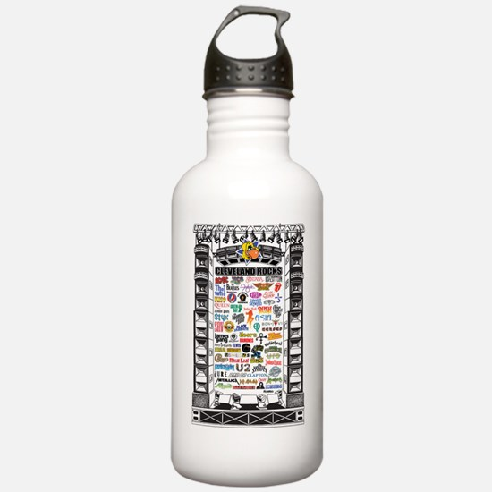 CLE Stage Rock Water Bottle