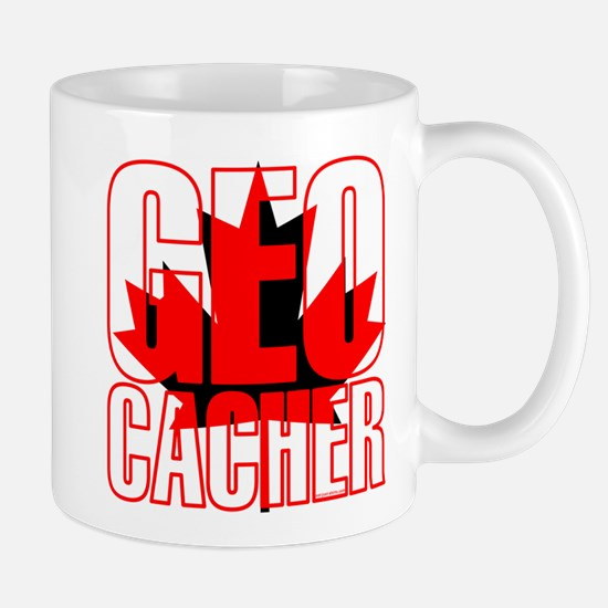 Maple Leaf Geocacher Mug