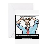Hire a Technical Writer Greeting Cards (Package of