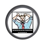 Hire a Technical Writer Wall Clock