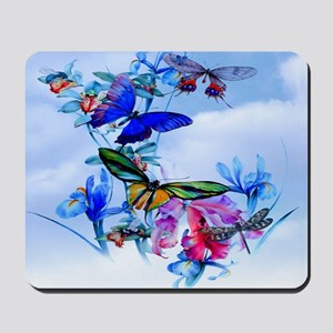 LG Serving Tray Take Flight Butterly Orc Mousepad