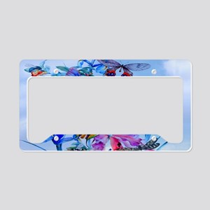 Small Serving Tray Take Fligh License Plate Holder