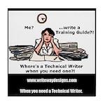 Technical Writer Tile Coaster