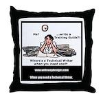 Technical Writer Throw Pillow