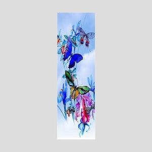 Gaiam Yoga - Take Flight! Butterf 36x11 Wall Decal