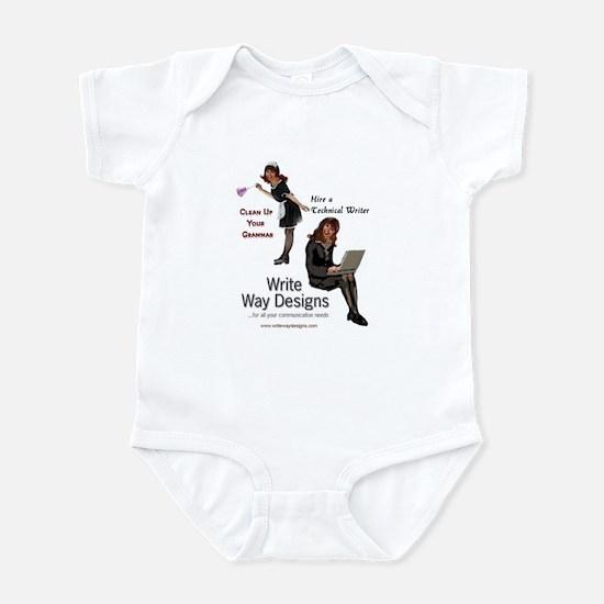 Clean Up Your Grammar Infant Bodysuit