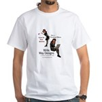 Clean Up Your Grammar White T-Shirt