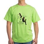 Clean Up Your Grammar Green T-Shirt