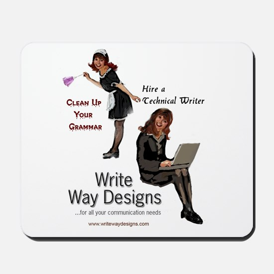 Clean Up Your Grammar Mousepad