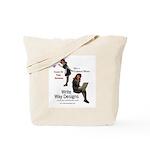 Clean Up Your Grammar Tote Bag
