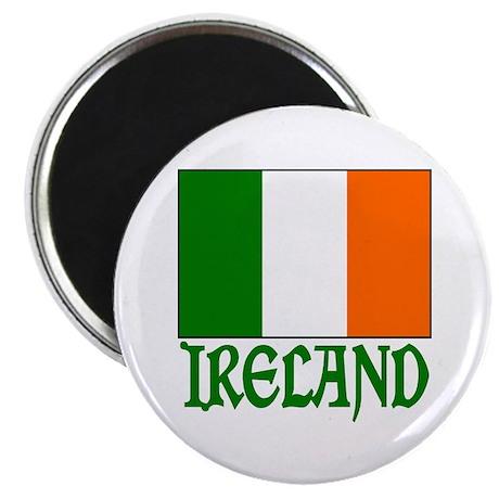 "Irish Flag & Ireland 2.25"" Magnet (10 pack)"