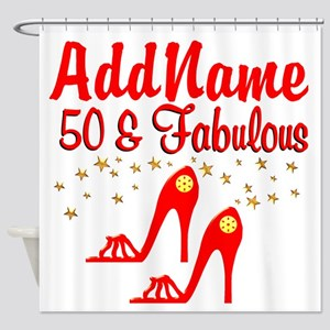FANTASTIC 50TH Shower Curtain