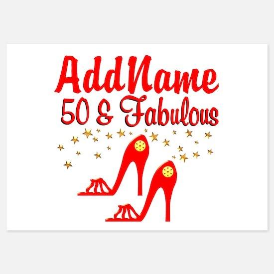 FANTASTIC 50TH Invitations
