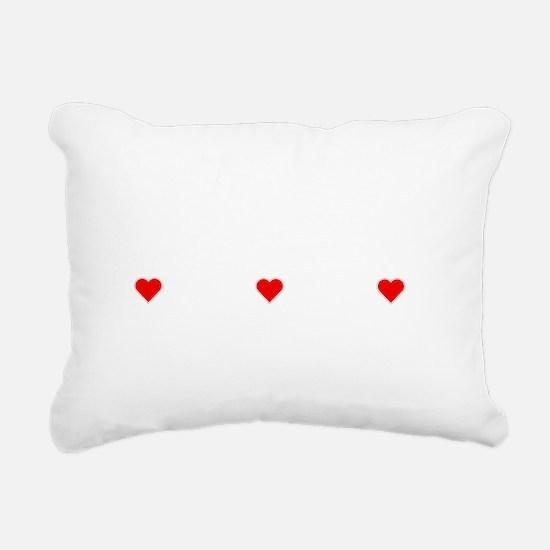 Property Of A Chocolate  Rectangular Canvas Pillow
