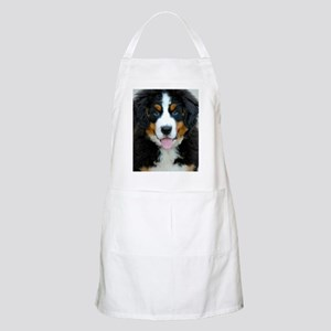Bernese Mountain Dog Puppy 3 Apron