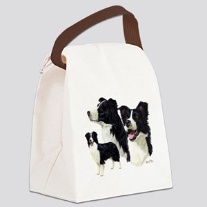 Border Collie Multi Canvas Lunch Bag