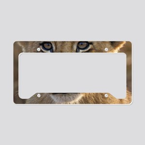 Sparta Lion Cub License Plate Holder