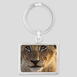 Sparta Lion Cub Landscape Keychain