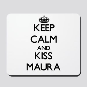 Keep Calm and kiss Maura Mousepad