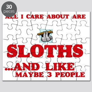 All I care about are Sloths Puzzle