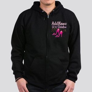 TERRIFIC 50TH Zip Hoodie (dark)