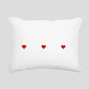 Property Of A Shih Tzu Rectangular Canvas Pillow