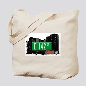 E 142 St, Bronx, NYC Tote Bag