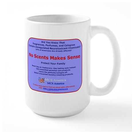 No Scents Makes Sense Large Mug
