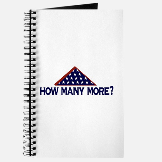 How Many More (End the war) Journal