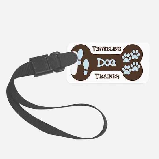 Traveling Dog Trainer Logo Luggage Tag