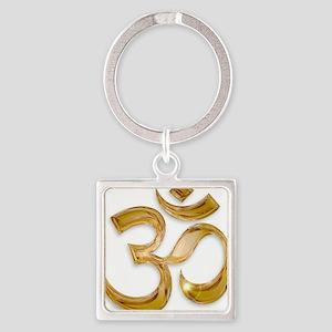 Gold Om Keychains