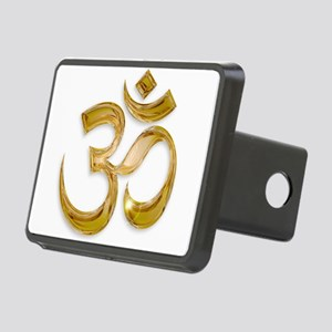Gold Om Hitch Cover