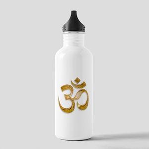 Gold Om Water Bottle