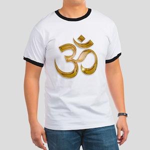 Gold Om T-Shirt
