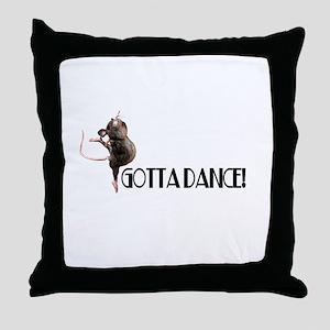 Gotta Dance! Throw Pillow