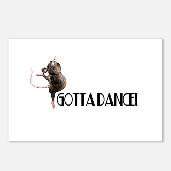 Gotta Dance! Postcards (Package of 8)