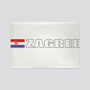 Zagreb, Croatia Rectangle Magnet