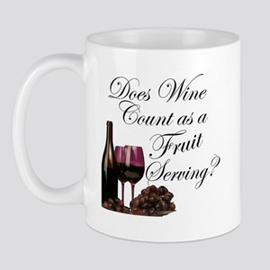 Wine is Fruit? Mug