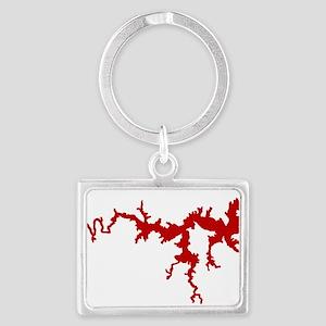 dragon only_crimson Keychains