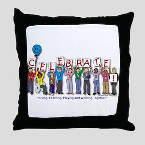 Diversity! Throw Pillow