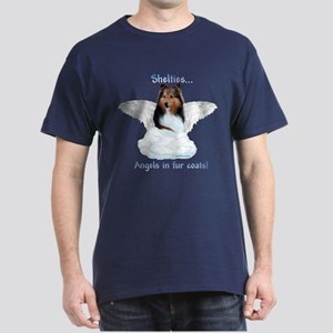 Sheltie Angel Dark T-Shirt