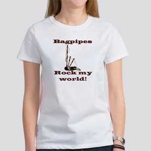 Rock World Front - Rock Back Women's T-Shirt