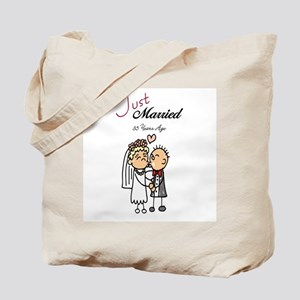 Just Married 35 years ago Tote Bag