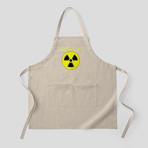 Custom Yellow Round Radioactive Apron