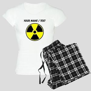 Custom Yellow Round Radioactive pajamas